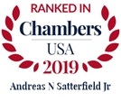 Chambers USA 2019 - Andreas N. Satterfield