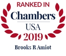 Chambers USA 2019 - Brooks R. Amiot