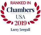 Chambers USA 2019 - Larry R. Seegull