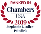 Chambers USA 2019 - Stephanie L. Adler-Paindiris