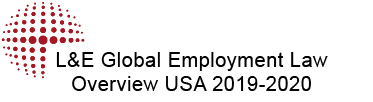 L&E Global Employment Law Overview USA 2019-2020