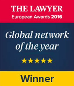 The Lawyer European Awards 2016 - Global network of the year