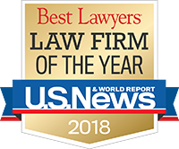 US News and World Report - Best Lawyers Firm of the Year