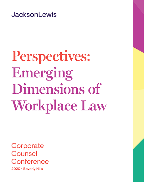 Perspectives: Emerging Dimensions of Workplace Law