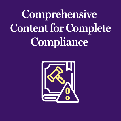 Comprehensive Content for Complete Compliance